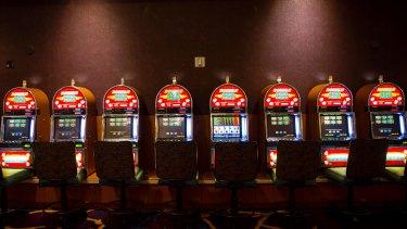 The casino floor at Mandalay Bay on Tuesday.