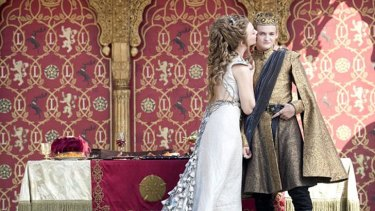 True love's kiss? .... Margaery Tyrell becomes a Queen.