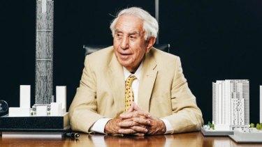 """""""I am sure they have wonderful young kids and commonsense will prevail"""": Billionaire developer Harry Triguboff."""