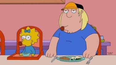 Plenty of comparisons ... meet Maggie Simpson and Chris Griffins.