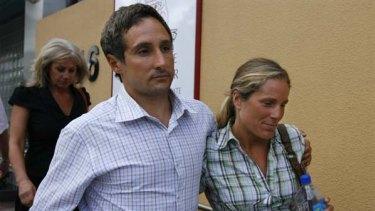 Pablo Comas and wife Samantha.