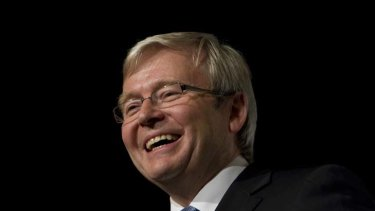 Kevin Rudd ... cultivating Australia-Asia relations.