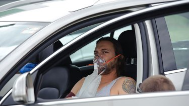 Revival  ... Kevin Federline being treated today.