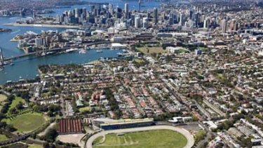 Mirvac plans to turn Harold Park Paceway into a residential area.