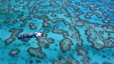 Great Barrier Reef, off Queensland.