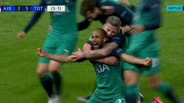 Tottenham has joined Liverpool in the Champions League final after a second-half hat-trick to Lucas Moura against Ajax.