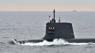 Under the sea:  Just where the new submarines for  Australia should be built is a contentious issue.