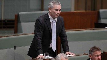 Court action underway ... Craig Thomson.