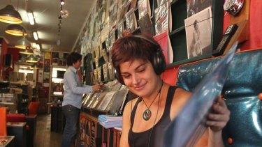 Pure Pop record store in St. Kilda.