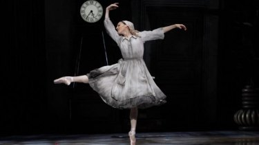 Mesmerising: Leanne Stojmenov as Cinderella, for which she won the award for Outstanding Performance by a Female Dancer.
