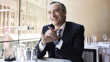 Virgin CEO John Borghetti.