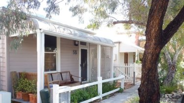 The kind of traditional Fremantle cottage that would be used as the model for future tiny housing in the port city.