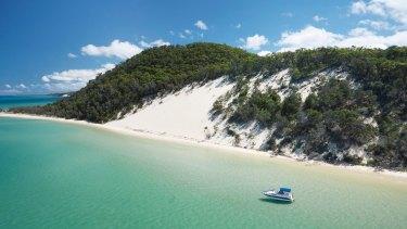 Moreton Island, home to Tangalooma Island Resort.