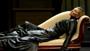 Cate Blanchett as Hedda Gabler in Sydney, 2004.
