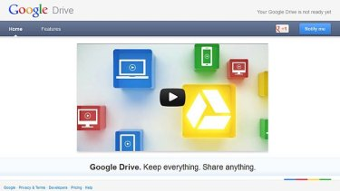 Google Drive has launched, but not everyone can access it yet.