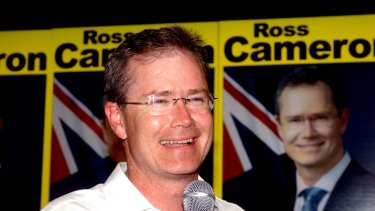 Outspoken former MP Ross Cameron faces being suspended from the Liberal party for five years.