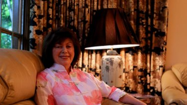 Imaginative writings ... Diane Armstrong at her Dover Heights home.