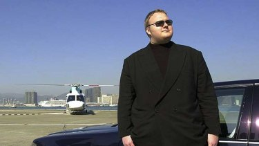Alleged Megaupload boss Kim Dotcom.