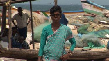 Tushanthan's mother Rani in Chennai, India