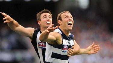 Darren Jolly and Brad Ottens clash