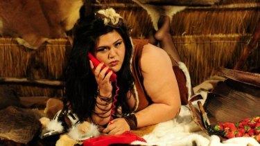 "Funny business: ""Bogan"" actor and playwright Nakkiah Lui at work."