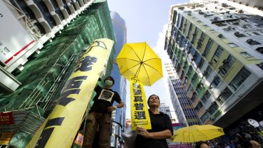The Umbrella Revolution lasted 79 days.