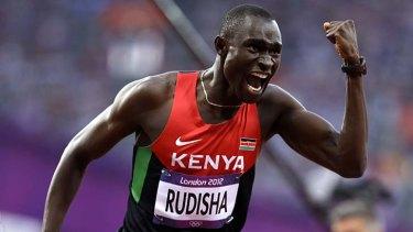 World record ... David Rudisha