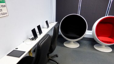 Kavanagh Industries' sleeping pod.