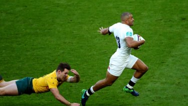 Jonathan Joseph is happy to sacrifice time on his phone in becoming a better player.