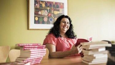 Debut novel: Author Tamar Chnorhokian at the University of Western Sydney Bankstown campus.