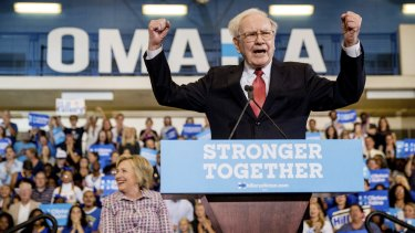 Even though he supported Democrat Hillary Clinton in last year's election campaign, Warren Buffett has said repeatedly that the country's economy would do fine no matter who won.