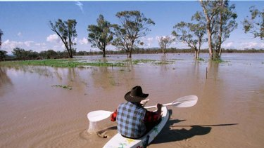 Get ready ... a British scientist has warned Australia can expect more floods.