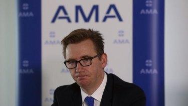 """You're better off dealing with it early"": Australian Medical Association president Associate Professor Brian Owler."