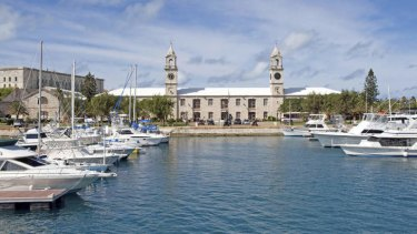 Home away from home: tax haven Bermuda is a base for some ASX-listed companies.