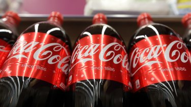 Coca-Cola shares are down sharply on Friday.