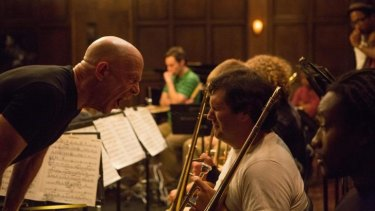 J.K. Simmons as Fletcher in <i>Whiplash.</i>