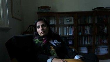 Malalai Joya ... critic of the Karzai government.