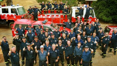 Jobs well done: NSW and overseas firefighters will be going home after the worst of Victoria's bushfire season was declared over.