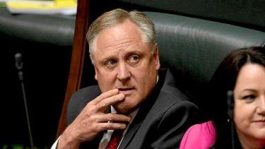Andrew McIntosh won't be contesting next year's election.