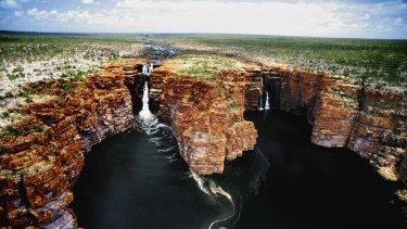 Special tribal and spiritual significance: King George Falls in the east Kimberley.