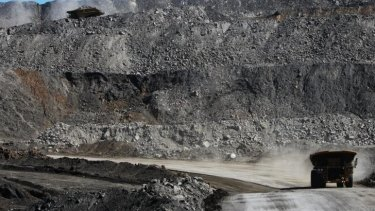 BMA's Goonyella Riverside Mine near Moranbah.
