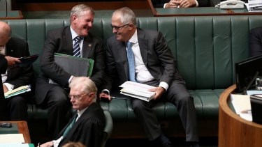 Ian Macfarlane, left, and Malcolm Turnbull have been close personal friends.