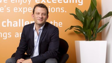 Hipages chief executive and co-founder David Vitek