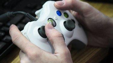 Xbox controller video game.