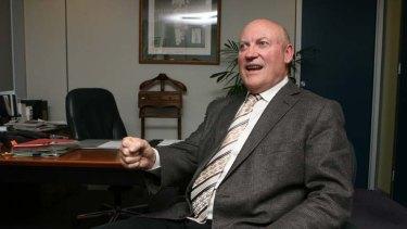 Ian Macdonald ... awarded the license Doyles Creek Mining, a company chaired by John Maitland.