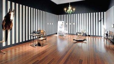 Julia deVille's dream bedroom.