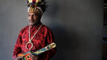 West Papua independence leader Benny Wenda.