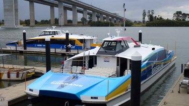 """Brisbane's latest CityCat """"The Spirit Of Brisbane""""."""