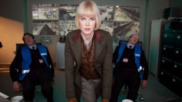 Villain: Nicole Kidman is up to no good in <i>Paddington. </i>