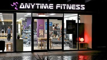 Ready when you are: Anytime Fitness now has over 275,000 members in Australia.